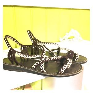 Shoes - African braided sandals